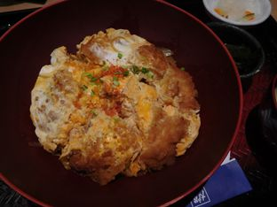 Foto 6 - Makanan(Chicken katsu gyudon) di Ootoya oleh Angelina wj