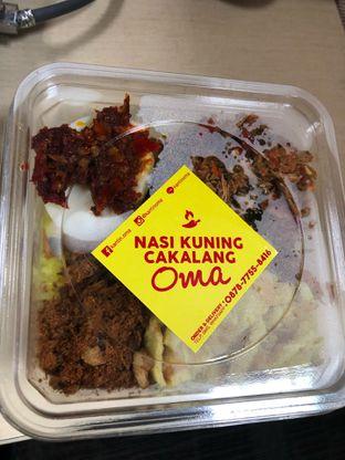 Foto 2 - Makanan di Nasi Kuning Cakalang Oma oleh FebTasty  (Feb & Mora)