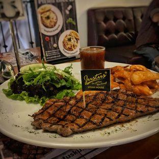 Foto - Makanan(Sirloin Steak) di Justus Steakhouse oleh Fadhlur Rohman
