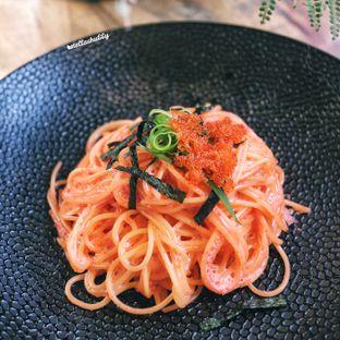Foto 2 - Makanan(Mentaiko pasta) di Kamakura Japanese Cafe oleh Stellachubby