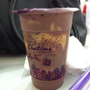 Foto 1 - Makanan(Hazelnut Chocolate Milk Tea with Topping Grass Jelly) di Chatime oleh defita desty anggraini