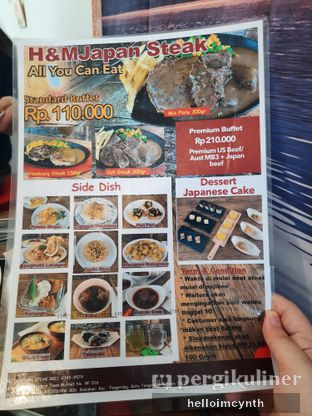 Foto review H&M Japan Steak oleh cynthia lim 2