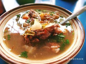 Foto Makanan di Sop Buntut Sapi Ma' Emun