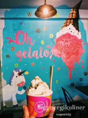 Foto 1 - Makanan(sanitize(image.caption)) di Oh Gelato & Cafe oleh @supeririy
