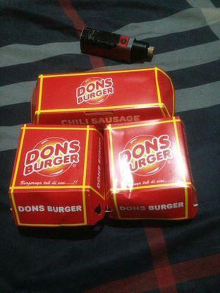 Foto 1 - Makanan di Dons Burger oleh Pria Lemak Jenuh