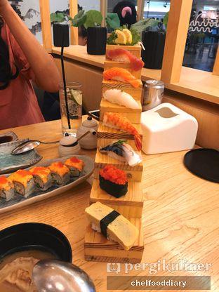Foto 2 - Makanan(Hiro Deluxe Sushi) di Sushi Hiro oleh Rachel Tobing