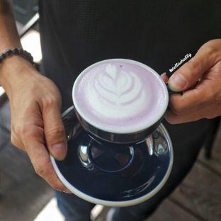 Foto 4 - Makanan(Hot taro) di Simetri Coffee Roasters oleh Stellachubby