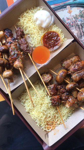 Foto Makanan di Sateh