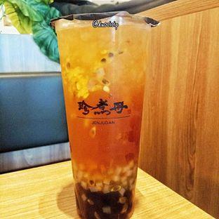 Foto 1 - Makanan(Passionfruit green tea) di Truedan oleh duocicip