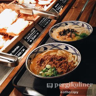 Foto - Makanan(beef curry udon) di Marugame Udon oleh meg mao