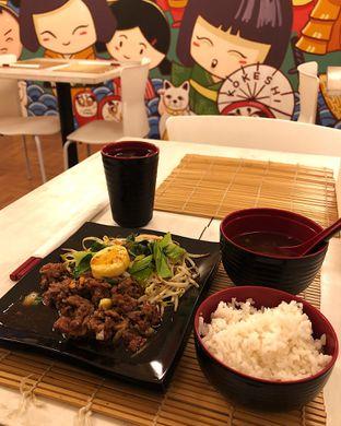 Foto 2 - Makanan(slice beef teppanyaki set) di Kokeshi Teppanyaki oleh Claudia @grownnotborn.id