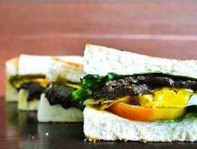 Foto Sandwich Bakar