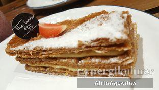 Foto 3 - Makanan(Vanilla mille feuille) di The Larder at 55 oleh Airin Agustina
