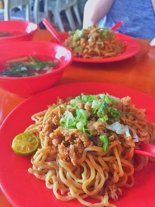 Foto 1 - Makanan di Bakmi Ahok Dempo Palembang oleh Maria Teresia