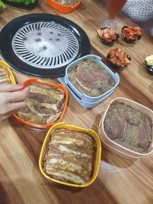 Foto 2 - Makanan di Cha Ra Da Korean BBQ oleh imanuel arnold