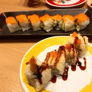 Foto 1 - Makanan di Genki Sushi oleh denise elysia