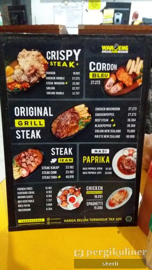 Foto 3 - Menu di Waroeng Steak & Shake oleh Mickey Mouse