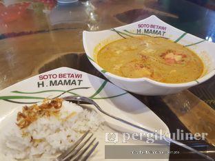 Foto 3 - Makanan di Soto Betawi H. Mamat oleh Meyda Soeripto @meydasoeripto