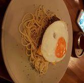 Foto Spaghetti and cheese burger di Toodz House