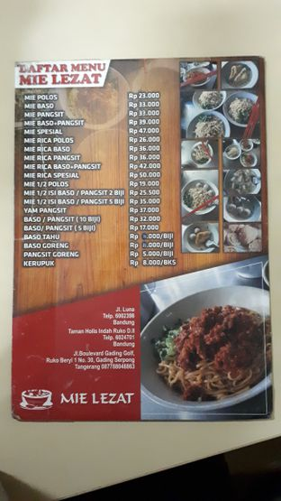 Foto 4 - Menu di Mie Lezat Khas Bandung (Gang Luna) oleh Eat Drink Enjoy
