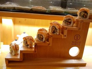 Foto 1 - Makanan di Sushi Hiro oleh Wimpy & Pu3 @pangananwuenak