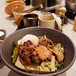 Foto - Makanan(US Prime Beef Sukiyaki Don) di Isshin oleh Melisa Cubbie