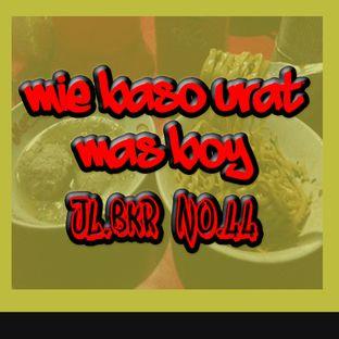 Foto - Makanan di Mie Baso Urat Mas Boy oleh ramdanz holics