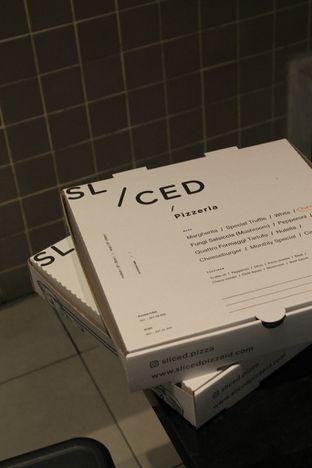 Foto 1 - Makanan di Sliced Pizzeria oleh Prido ZH