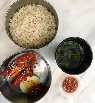 Foto 1 - Makanan(Honey Chicken Hainan Rice) di UNCLE K oleh @makankudiary (by tamy)