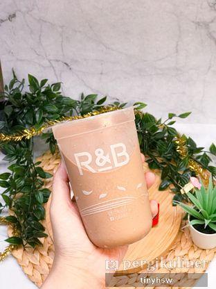 Foto 2 - Makanan(Chocolate milk tea) di R&B Tea oleh Tiny HSW. IG : @tinyfoodjournal