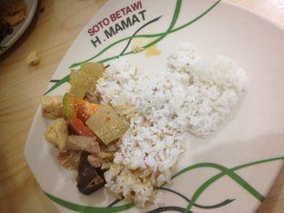 Foto 2 - Makanan di Soto Betawi H. Mamat oleh Komentator Isenk
