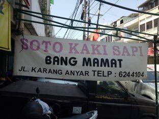 Foto 1 - Eksterior di Soto Kaki Sapi Bang Mamat oleh @duorakuss
