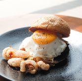 Foto Pulled pork burger di Coarse & Fine Coffee