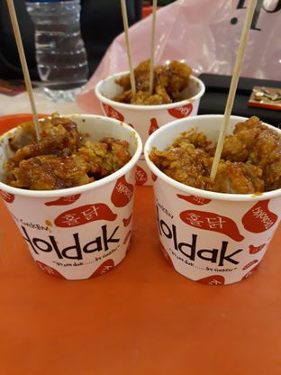 Foto 3 - Makanan di Holdak Crispy Chicken oleh Maissy  (@cici.adek.kuliner)