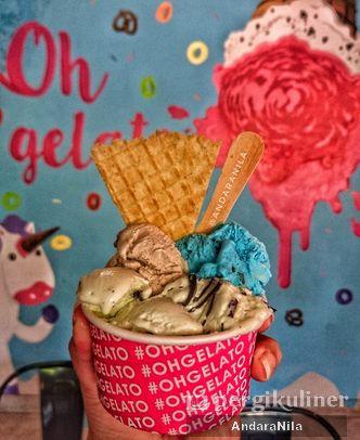 Foto Makanan di Oh Gelato & Cafe