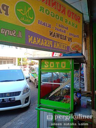 Foto review Soto Kuning Pa Ridwan oleh @NonikJajan  2