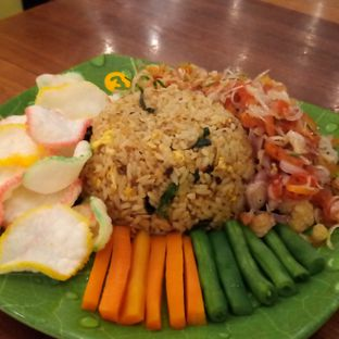 Foto 2 - Makanan di Nasi Goreng Bistik Sawah Kurung oleh Chris Chan