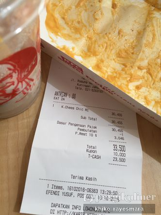 Foto Menu di KFC
