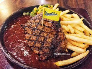 Foto - Makanan(Sirloin Steak) di Justus Asian Grill Express oleh @kulineran_aja