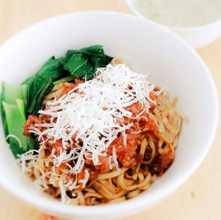 Foto 1 - Makanan(Mie Bolognese) di Kedai Minasi oleh Mat Rene