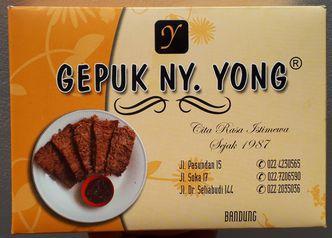 Foto Makanan di Gepuk Ny. Yong