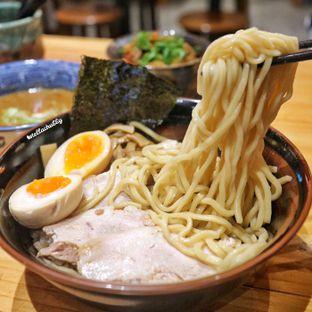 Foto 2 - Makanan(Spicy tsukemen special (pork)) di Menya Sakura oleh Stellachubby