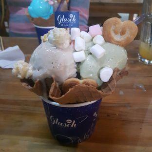 Foto 1 - Makanan di Glasch Nitrogen Ice Cream oleh Pria Lemak Jenuh