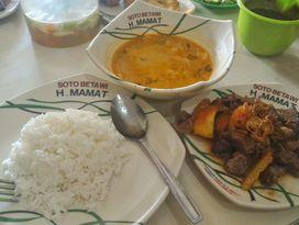 foto Soto Betawi H. Mamat