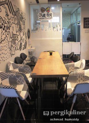 Foto 4 - Interior(Suasana meja makan lantai 2) di Chill Bill Coffees & Platters oleh Achmad Humaidy