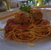 Foto Spaghetti Meatballs di Orofi Cafe