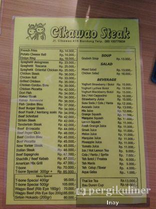Foto review Cikawao Steak oleh Inay  5