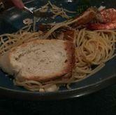 Foto spaghetti aglio olio di The Restaurant - Hotel Padma