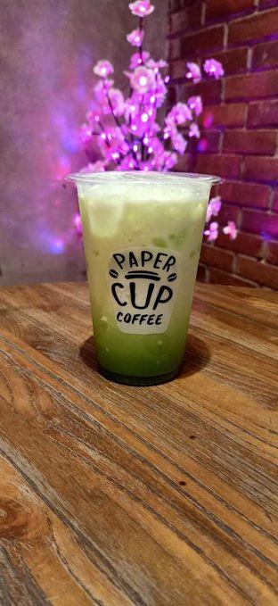 Foto 3 - Makanan(Genmacha Latte) di Papercup Coffee oleh Afifah Romadhiani