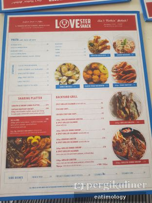 Foto 3 - Menu di LOVEster Shack oleh EATIMOLOGY Rafika & Alfin